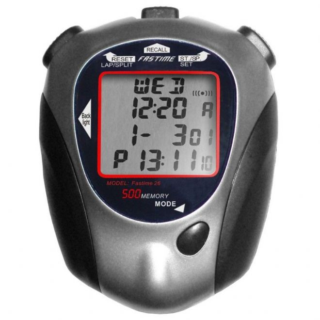 Saturn Stopwatches - 500 Lap Memory - Quad Display - Fastime 26 Stopwatch